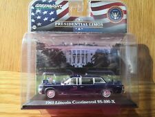 1:43 Presidential Limo 1961 Lincoln Continental SS-100-X John Kennedy Greenlight