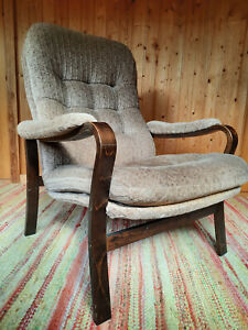 Armchair Club Chair Vintage 60er Easy Lounge Danish 60s Westnofa Rykken Era