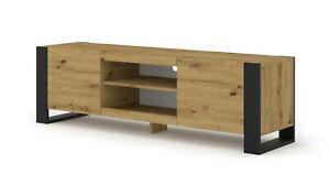 Mondi 158 cm tv cabinet tv stand oak cupboard Artisan opaque white