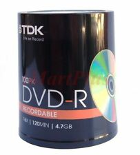 100 Quantity Disks 4.7GB Storage Capacity Discs