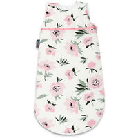 Baby Sleeping Bag Baby Shower Gift Newborn Sleeping Bag 100% Cotton Coral Flower