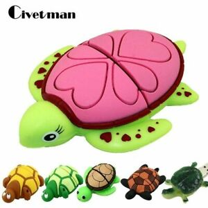 USB2.0 Flash-Laufwerk Tortoise 32GB-1GB Cartoon Turtle Speicherstick