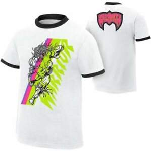 Ultimate Warrior WWE Authentic White Ringer T-shirt