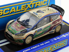 Scalextric C3300 Ford Fiesta RS WRC Rally Slot Car 1/32