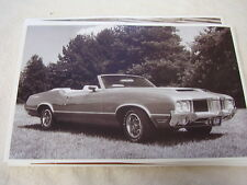 1971 OLDSMOBILE CUTLASS 442 CONVERTIBLE   11 X 17  PHOTO  PICTURE