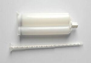 Polyurethane Resin Doming Pack of 3 x 50 ml Resin Cartridge & Mixer Tubes
