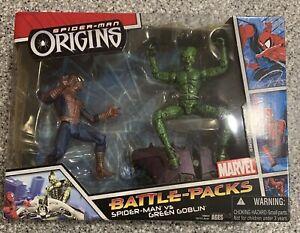 Spider-Man Origins Spider-Man vs Green Goblin Battle-Packs Hasbro 2006
