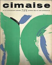 CIMAISE / ART ET ARCHITECTURE ACTUELS_OTTOBRE-NOVEMBRE-DICEMBRE 1968_N° 88 - 89