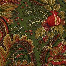 1 Yard Mill Creek Raymond Waites ANCIENT KING EMERALD Drapery Upholstery Fabric