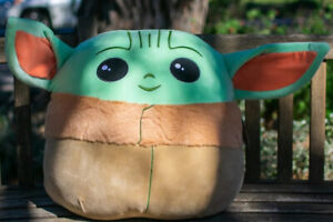 Star Wars Mandalorian Baby YODA ~ Squishmallow 20 Inch XL- Fast Free Shipping
