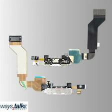 IPHONE 4S Charging Socket Dock Connector Flex Cable+Microphone White