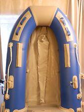 Schlauchboot Angelboot Ruderboot, Blau 2,30mx 1,35m, mit Aluboden . Neu