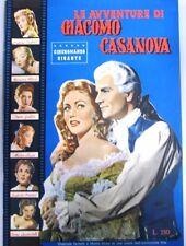 FOTOROMANZO LE AVVENTURE DI GIACOMO CASANOVA FERZETTI GRAY N°5 1955 (FR45)