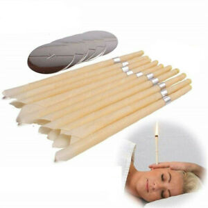 2/10pcs Removal Coning Fragrance Candles Ear Wax Cleaner Hollow Healthy Care Set