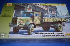 Zvezda 3647 - German Heavy Truck L-4500  scala 1/35
