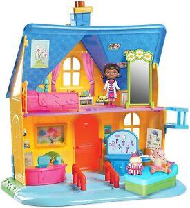 Disney Doc McStuffins Diagnosis Clinic Lambie & Hallie Doll Set ~ New in Box