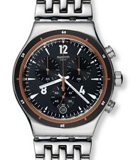 "SWATCH IRONY NEW CHRONO ""DESTINATION MADRID"" (YVS419G) NEUWARE"
