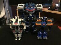 Transformers Animated Cybertron Elite Guard/Ultra Magnus, Sentinel Prime & Jazz