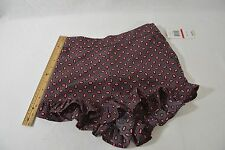 NWT! Gianni Bini Ruffled Edge Women's Shorts.Multi-Color Women's Size XS