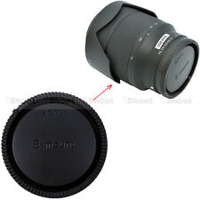 Arrière cap cover pour Sony E-mount micro appareil photo reflex E FE SEL objectif E18-200/3.5-6.3