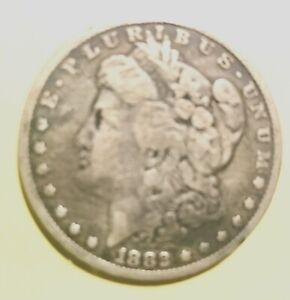 1882 Morgan Silver Dollar in nice condition, 90% silver 1 ounce coin