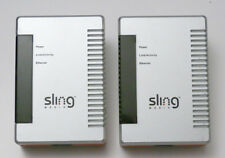 Lot of 2 SlingLink PowerLine Ethernet Connection Bridge - SL100-100
