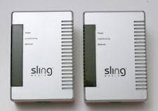 Lot of 2 SlingLink PowerLine Ethernet Connection Bridge - SL100-100 Nice!