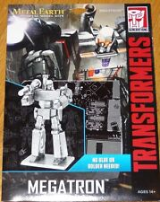 Megatron Transformers Metal Earth 3D Laser Cut Metal Model Kit Construction
