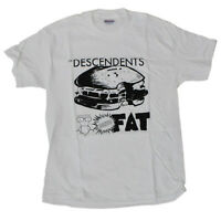 DESCENDENTS T-Shirt Bonus Fat White New Authentic S-2XL
