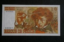 Billet de 10 Francs  Berlioz type 1972 du 1-8-1974 / état:  SPLENDIDE