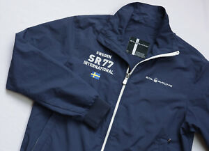 Sail Racing Sweden International Lumber jacket mens top size L Large navy blue
