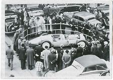 Internationaler Automobil-Salon in Paris. Orig-Pressephoto, von 1937