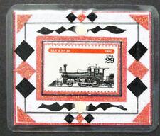 US, 1994 Locomotive Stamp Magnet, Scott 2846, Ely's #10, Lamination, New