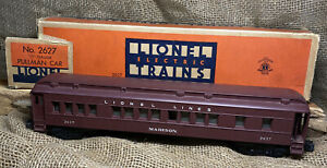 "Lionel 2627 Vintage O Lionel Lines Madison Heavyweight ""Madison"" Pullman Car"