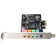 PCI-E scheda audio 5.1 6-Canali  CMI8738 cinema stereo Surround Sound Card HK