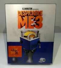DESPICABLE ME 3 [2D + 3D] Blu-ray STEELBOOK LENTICULAR [HDZETA] <#004/500> OOP