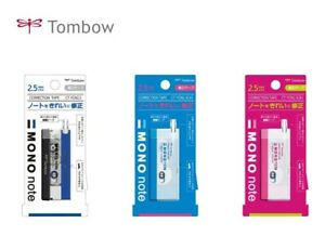 Tombow Mono note Single-use type Correction Tape Choose from 3 Type CT-YCN2.5
