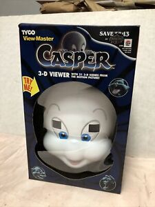 1995 Tyco View Master Casper 3D Viewer With 21 3D Pictures New