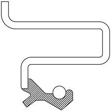 Transfer Case Output Shaft Seal fits 1980-1997 GMC Jimmy K1500,K2500 Sonoma  AUT