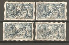GV Spec N71 SG417 10 shilling Seahorses Fine Used