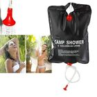 Portable 20L Outdoor Camping Hiking Solar Energy Heated Shower Pipe Bag Camp