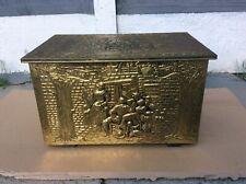 Vintage Brass Storage Trunk