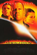 """ARMAGEDDON Movie Poster [Licensed-NEW-USA] 27x40"""" Theater Size (Bruce Willis)"""
