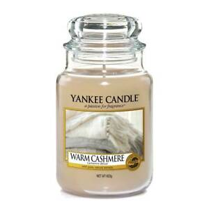 Yankee Candle Warm Cashmere Grosses Glas 623 g