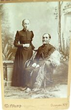 .c1880s LARGE STUDIO PHOTO by GIFFORD, DUNKIRK, NEW YORK. Mr & Mrs DOTY