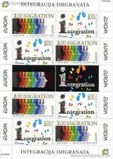 EUROPA CEPT 2006 INTEGRATION - BOSNIEN KROATISCH 171-72 KLEINBOGEN **