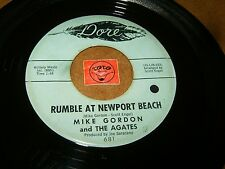 MIKE GORDON AND THE AGATES - RUMBLE AT NEWPORT BEACH / LISTEN - INSTRO POPCORN