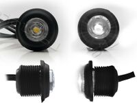 4x LED Positionsleuchte LKW PKW Positionslicht Anhänger Weiß 12V 24V