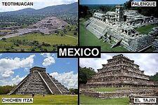 SOUVENIR FRIDGE MAGNET of MEXICO