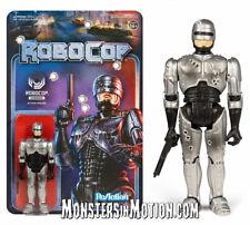 """Robocop Serie Uno Batalla Dañado Robocop 3.75"""" REACTION Figura de Acción 03RSU03"""